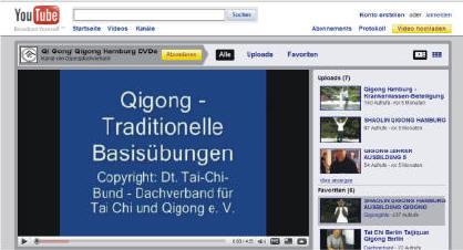 Kostenlose Taijiquan Qigong Netzwerke