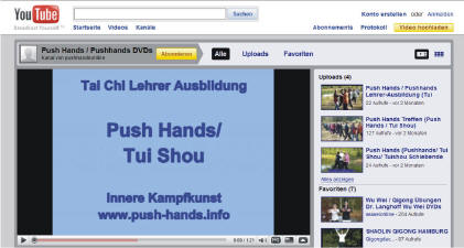 Push Hands Netzwerk Europa Youtube Videos